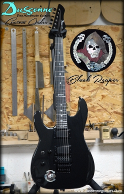 Dussenne Custom Order - Black dog