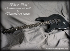 "Dussenne custom modèle ""Black Dog"""