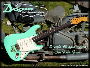 Dussenne S-style '63 Sea Foam Green